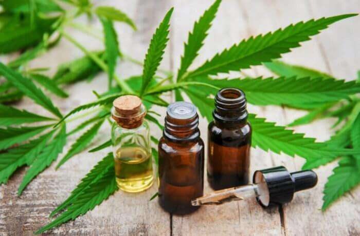 Hemp-derived CBD Oil Tincture